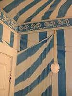Tent: Faux Molding (Grisaille), Sponging and Tompe l'Oeil, finishes, close up finishes, Ashley Spencer