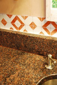 Faux Kitchen Tile by Ashley Spencer
