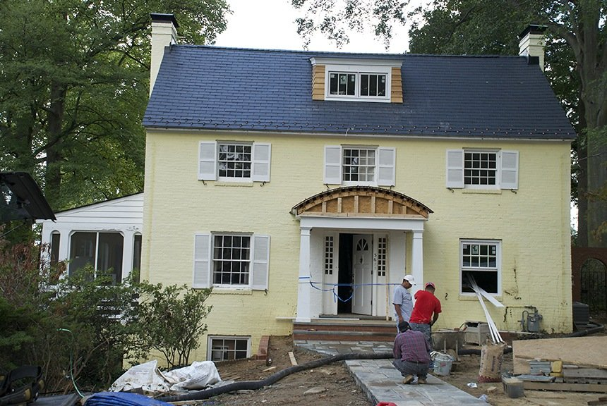 Before Existing Exterior Paint Consultation