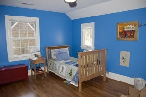After/ Son's Room is a happy blue
