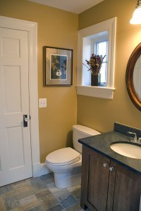 After/ Powder Room has more prominence