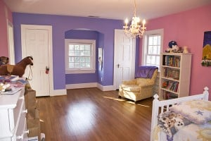 After/ Young Girl's Room is two-toned