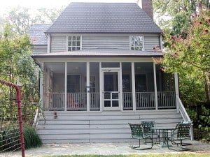 Before/ Existing Porch Exterior