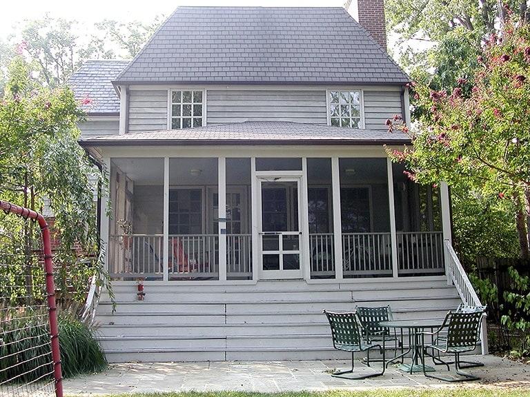 Before/Existing Porch Exterior