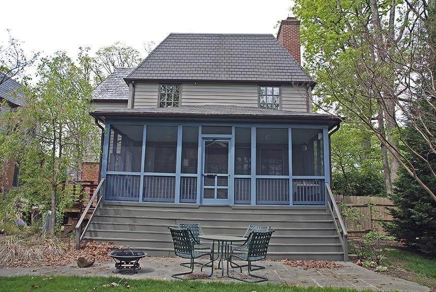 After/ Porch Paint Consultation & New Paint