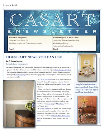 Sample image Casart eNews April 2010