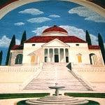 Palladian Villa Mural Detail