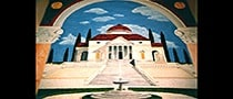 Palladian Villa Mural by Ashley Spencer