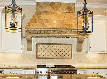 Faux Stone Corbels painted by Ashley Spencer