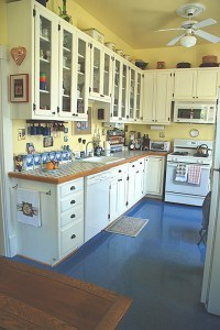 After Glazed Kitchen Cabinets Full View by Ashley Spencer