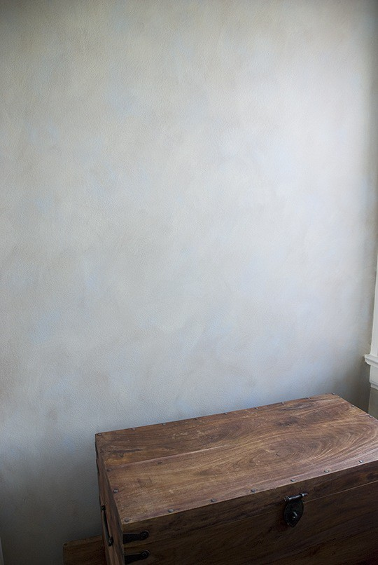Two Color Colorwash Wall by Ashley Spencer