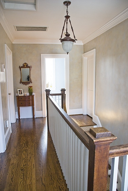 Two Color Colorwash Upstairs by Ashley Spencer