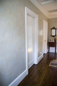 Two Color Colorwash Upstairs Hall by Ashley Spencer