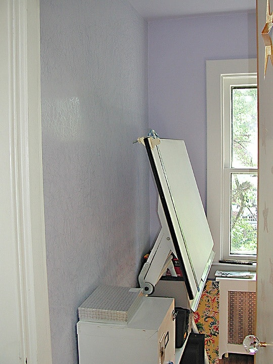 Venetian plaster treatment in office by Ashley Spencer