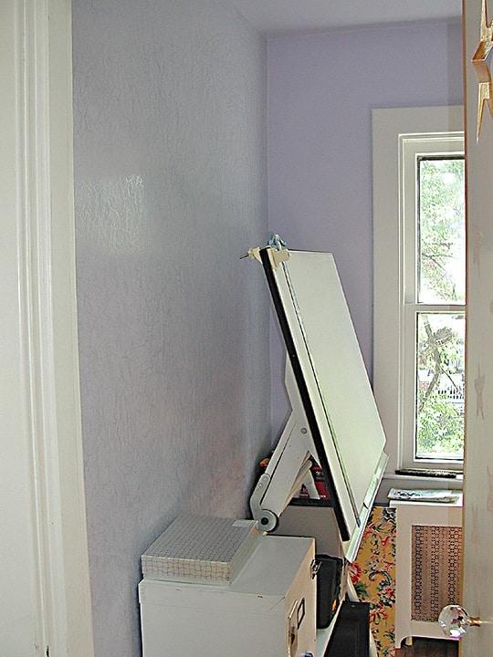 Venetian plaster treatment in office by Ashley Spencer