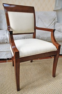 Before: unpainted, plain chair, finishes, before & after transformations, furniture, Ashley Spencer