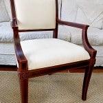 Subtle Painted Chair Accents