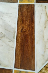 Faux bois, Faux Marble, Sample faux finish detail, Ashley Spencer