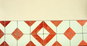 Faux Kitchen Tiles Close-Up, finishes, close up finishes, Ashley Spencer