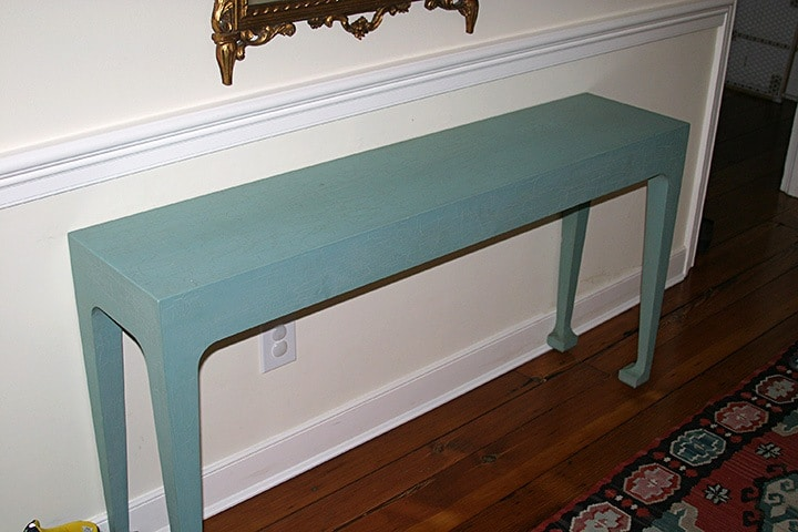 Console/Hall Table Before, finishes, Before & After Transformations, furniture, ashley spencer