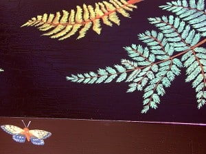 Fern Detail Hall Table Design