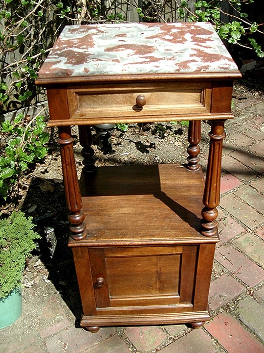 Unpainted Heirloom Table Before, Finishes, Close Up Finishes, Before & After Transformations, Furniture, Ashley Spencer