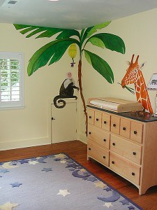 Tropical Theme Mural