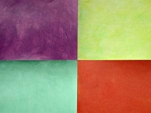 Multicolored Colorwashes, finishes, close up finishes, Ashley Spencer