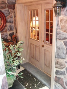 Aged Studio Doors by Ashley Spencer for Alexandria Garden and Home Tour