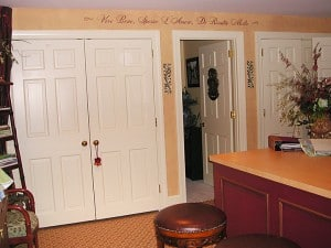 Design Showhouse, Alexandria, VA 2006, Mural, Finishes, Lettering & Accents