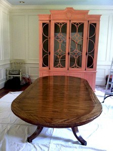 Armoire and Table Before
