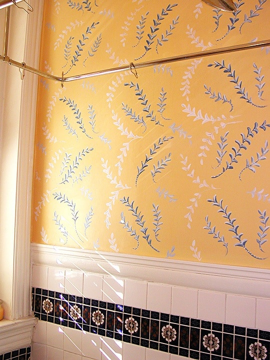 Pattern After Repair, Finishes, Repair & Restoration, Ashley Spencer, After