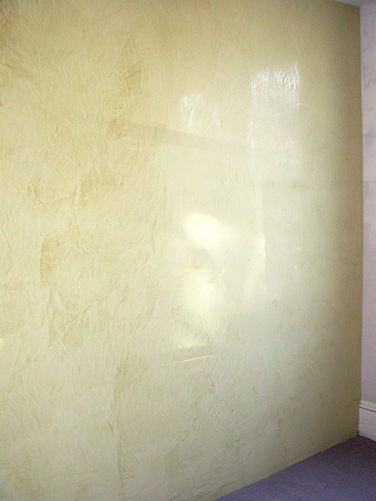 Venetian Plaster Detail by Ashley Spencer for Guest House