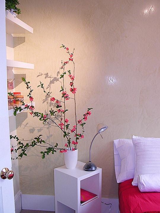 Venetian Plaster Detail by Ashley Spencer for Guest House