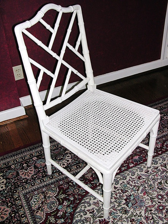 Bamboo Chair Before, finishes, Before & After Transformations, furniture, ashley spencer