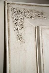 Detail Glazing of Aged Cabinet Finish