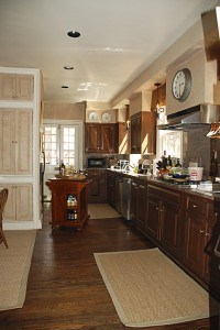 Kitchen Looks Back to Normal with Matched Finish