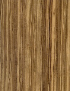 Faux Zebrawood Finish
