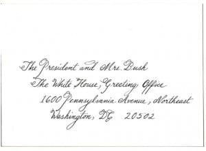 Wedding Invite Citadel Calligraphy