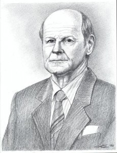 A Father's Portrait in Graphite