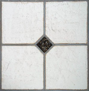Faux Tile with Marmorino Plaster by Ashley Spencer