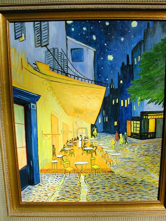Van Gogh Reproduction, Oil on Canvas, Fine Art, Ashley Spencer, Reproduction, Mural