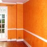 Pumpkin Colored Colorwash Transformation