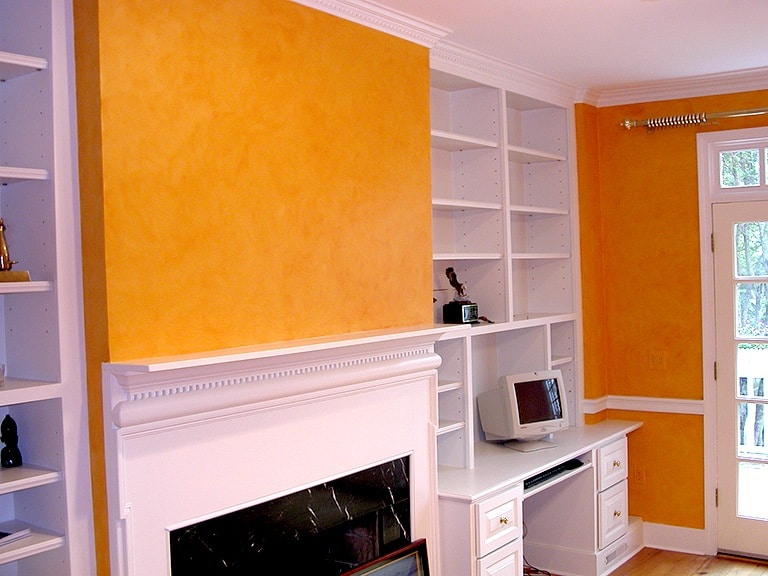 After Pumpkin colorwash-fireplace by Ashley Spencer