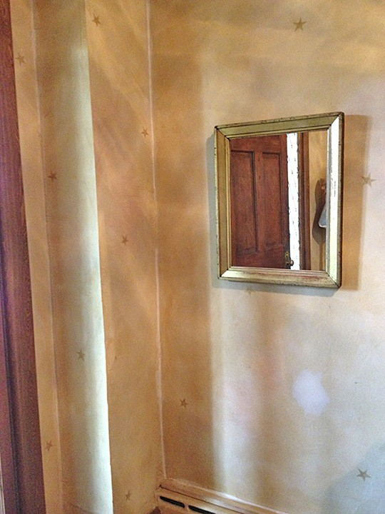 Existing Finish Before restoration by Ashley Spencer