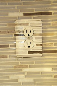 Outlet coover After installed painted by Ashley Spencer