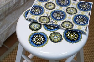 Stool Pattern After by Ashley Spencer with pattern reference