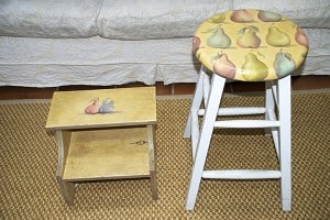 Stools Before on ashley-spencer.com