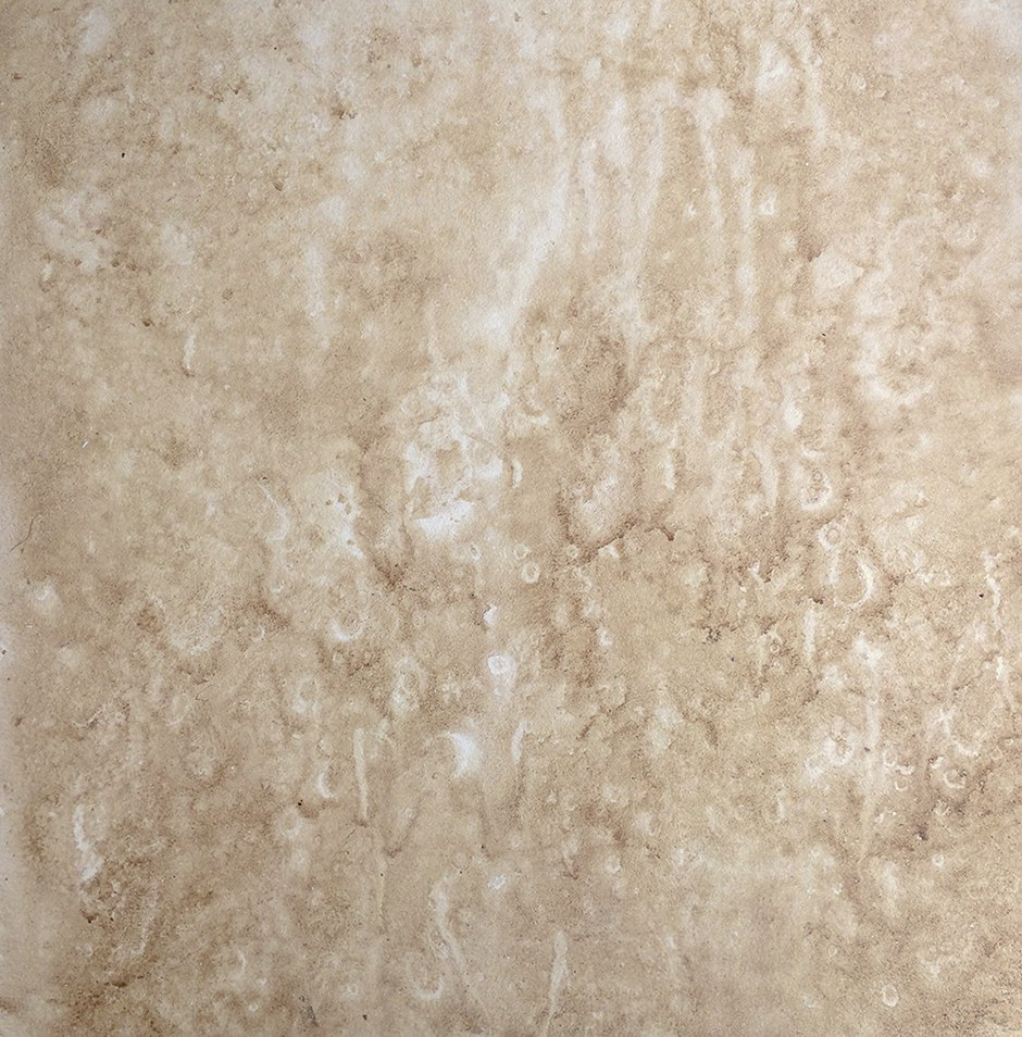 Detail of Faux Fossil Stone Finish painted by C. Ashley Spencer